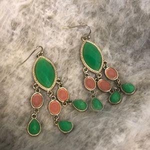 Francesca's Collection Chandelier Earrings